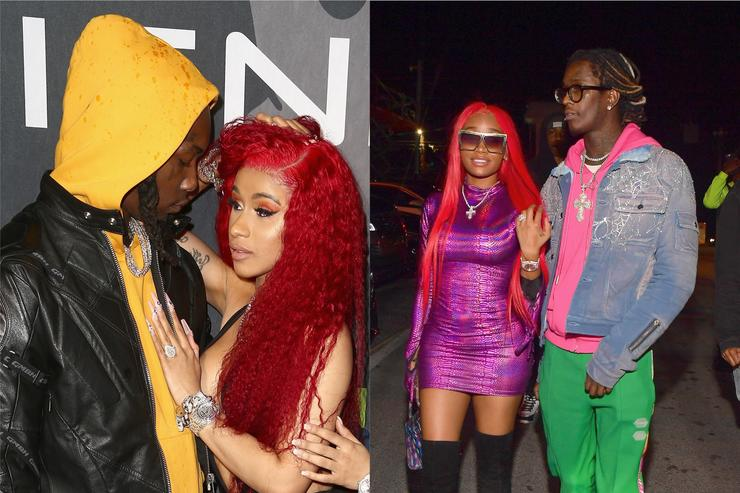 Cardi B Younger: Valentine's Day: Cardi B, Younger Thug & Extra Have A Good